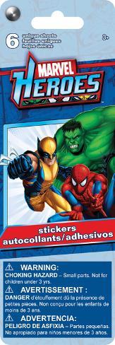 Marvel Heroes Sticker Flip Pack Stickers