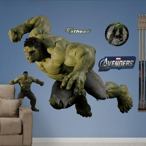 Marvel Hulk Avengers Live Action Photo Wall Decal Sticker Wall Decal