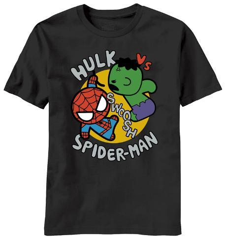 Marvel Kawaii - Toy Hulk Vs. Spidey T-Shirt