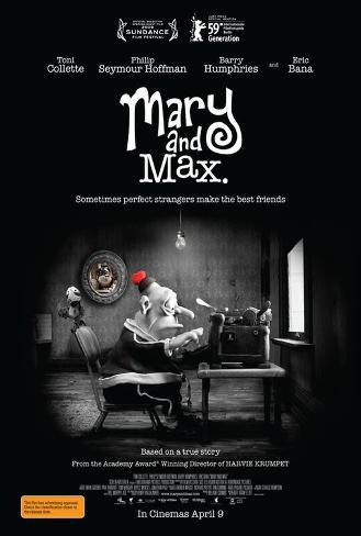 Mary and Max - Australian Style Poster