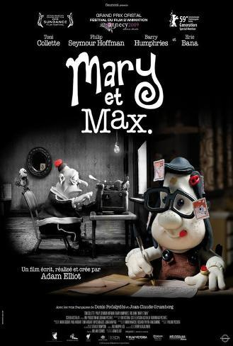 Mary and Max - French Style Poster