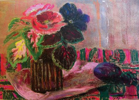 POPPIES AND PANSY Collectable Print