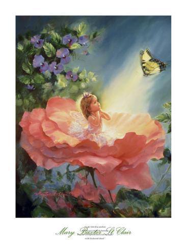 The Golden Butterfly Art Print