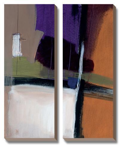 Linear Motion III Canvas Art Set