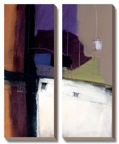 Linear Motion IV Canvas Art Set