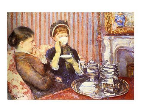 Five O'Clock Tea Giclee Print