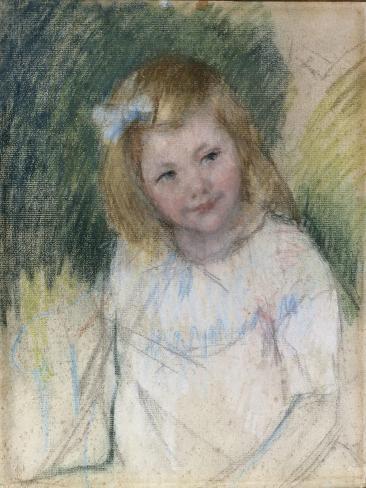 Sara Regardant Vers La Droite, c.1901 Lámina giclée