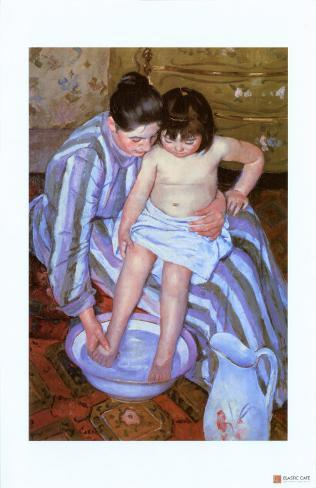 The Bath Giclee Print