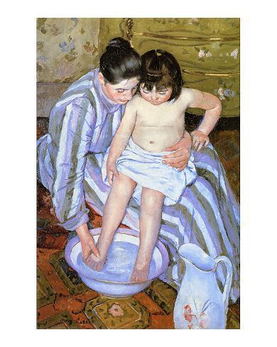 The Bath Giclee Print