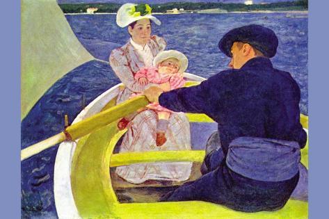 The Boat Travel Vinilo decorativo