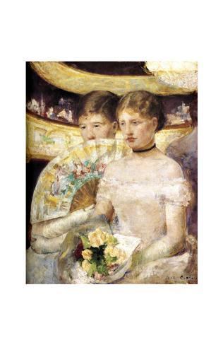 Two Woman at Theater Giclee Print