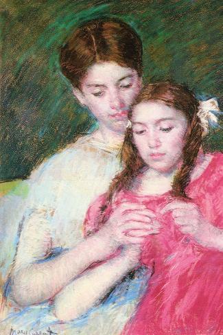 Woman and Girl Vinilo decorativo