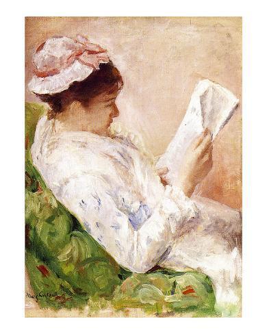 Woman Reading Giclee Print