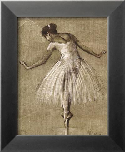 Bourees II Framed Art Print