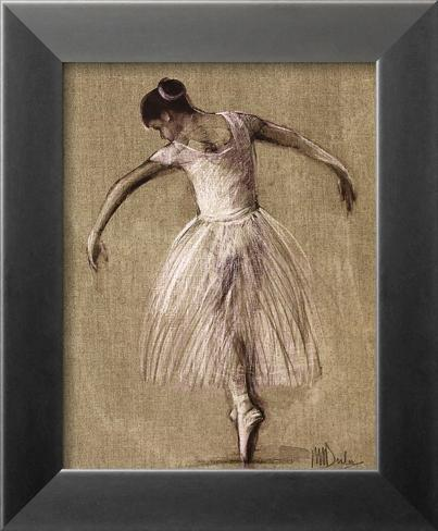 Bourees III Framed Art Print
