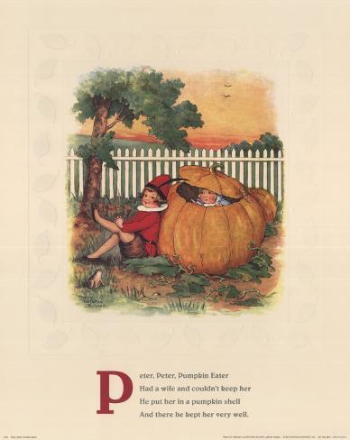 Peter, Peter Pumpkin Eater Art Print