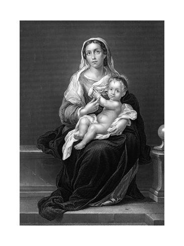 Mary (Murillo) Lámina giclée