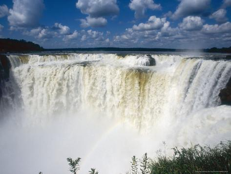 Iguassu Falls, Devils Gorge, South America Photographic Print