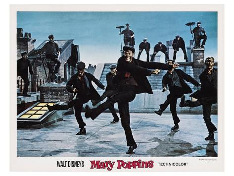 Mary Poppins, 1964 Art Print