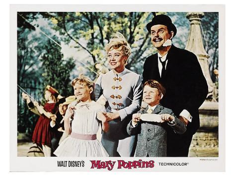 Mary Poppins, 1964 Stampa artistica