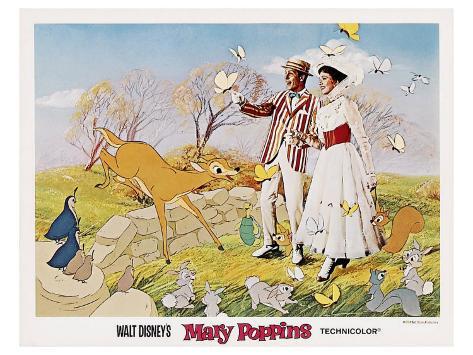 Mary Poppins, 1964 Art Print