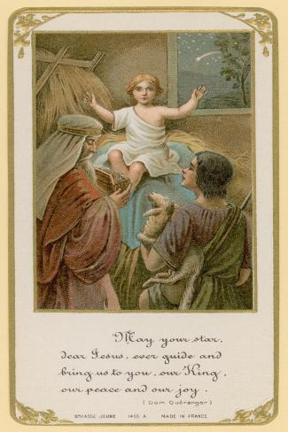 Mary Your Star, Dear Jesus, Ever Guide and Bring Us to You, Our King, Our Peace and Our Joy Lámina giclée