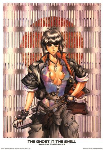 The Ghost In The Shell I Prints Masamune Shirow Allposters Com