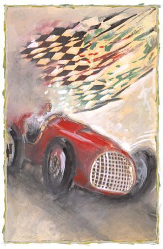Maserati Racer Masterprint