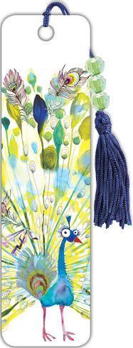 Masha Peacock Beaded Bookmark Bookmark