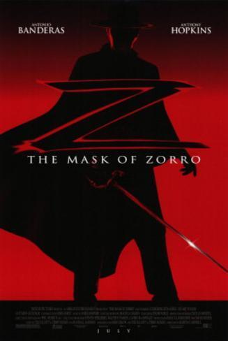 Mask of Zorro Movie Poster Poster originale