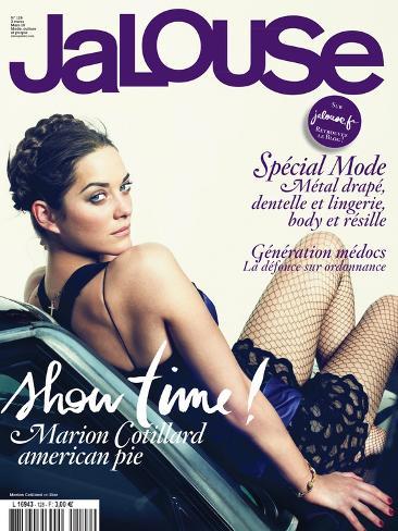 Jalouse, March 2010 - Marion Cotillard Art Print