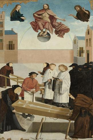 Seven Works of Mercy, Master of Alkmaar Art Print