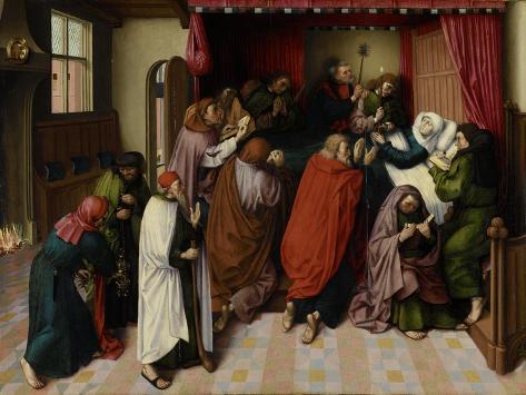 Death of the Virgin Art Print