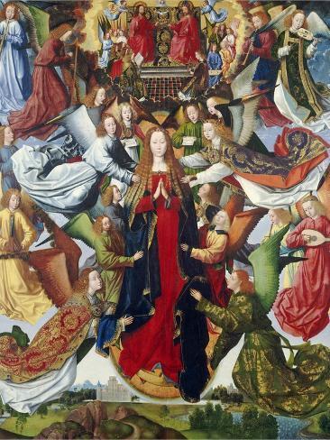 Mary, Queen of Heaven, C. 1485- 1500 Lámina giclée