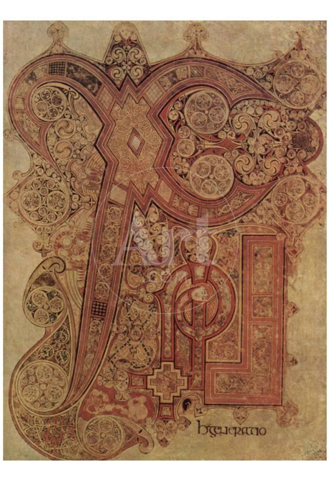 Masters Of The Book Of Kells Book Of Kells Christus Monogram