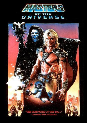 Masters of the Universe Masterprint