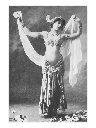Mata Hari, C.1905 Giclée-vedos