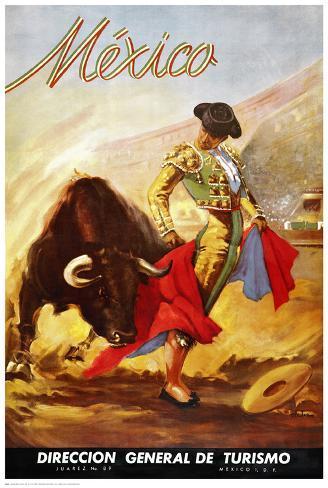 Matador I Art Print