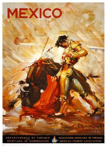 Matador II Art Print