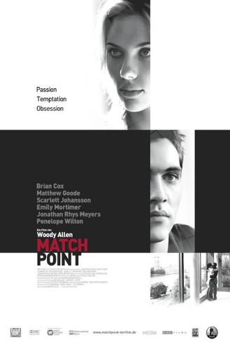 Match Point - German Style Poster