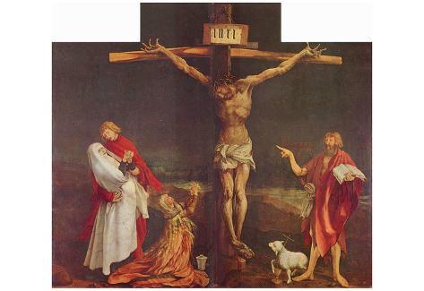 Mathis Gothart Grunewald (Isenheim Altar, formerly the main altar in Antoniterklosters Isenheim / A Póster