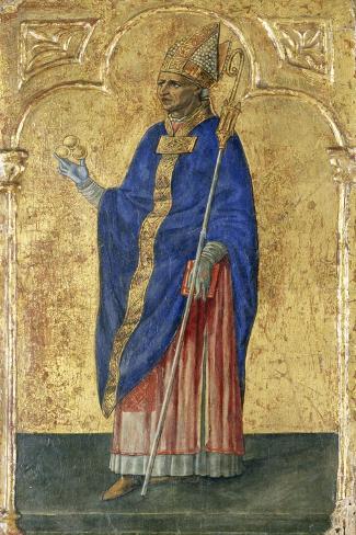 Saint Nicholas of Bari Giclee Print