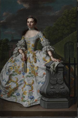 Portrait of Charlotte Beatrix Strick Van Linschoten Art Print