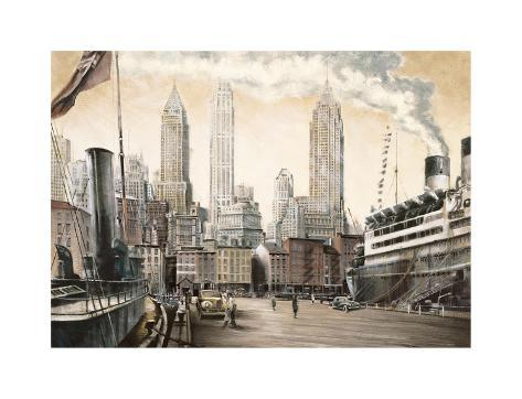 Departure, New York Giclee Print