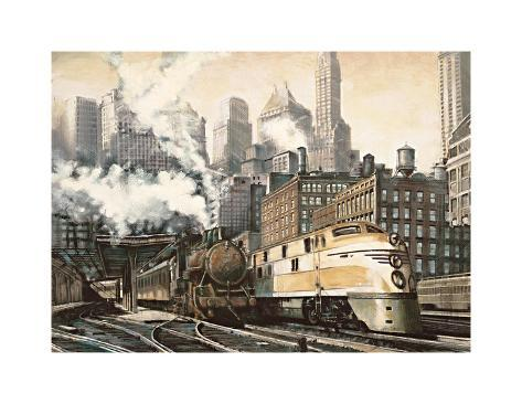 The Station, Chicago Giclee Print