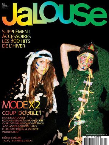 Jalouse, October 2008 - Diva et Lola Art Print