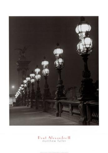 Pont Alexandre III Art Print