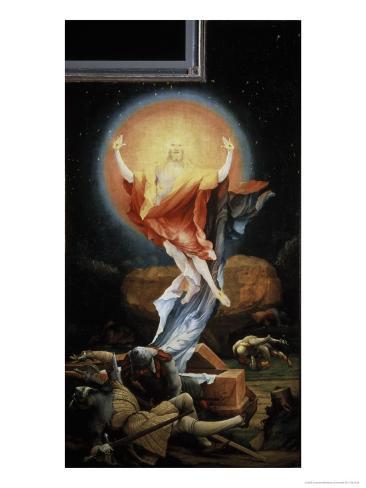 The Isenheim Altarpiece, Resurrection Impressão giclée