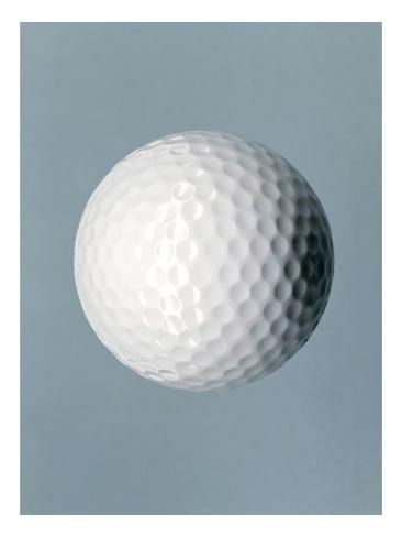 Golf Ball Giclee Print
