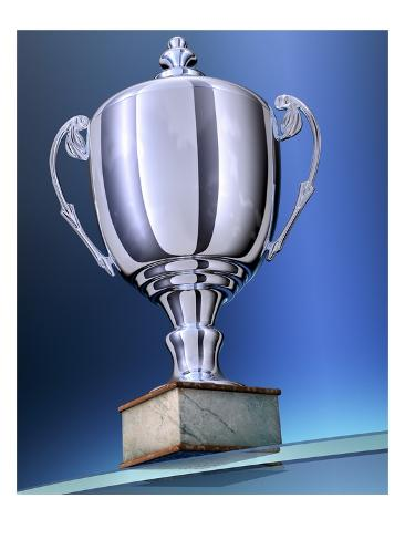 Shiny Trophy Giclee Print
